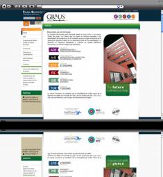 Rediseño espacios web de la Facultat d'Economia U.V.