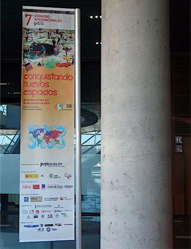 7as Jornadas internacionales gvSIG